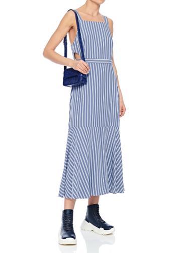 Viscose Twill Strappy Dress