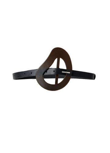 Organic Leather Thin Belt