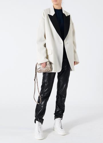 Luxe Tuxedo Oversized Blazer