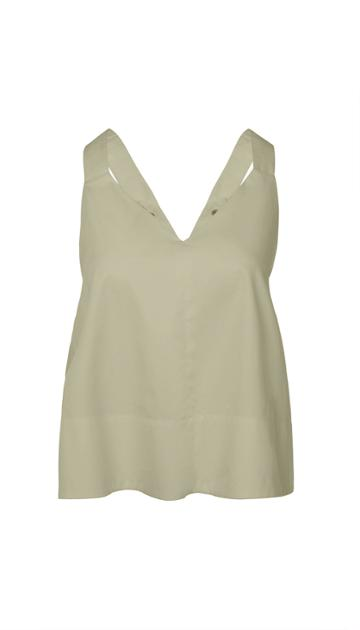Tech Poplin Adjustable Snap Tank