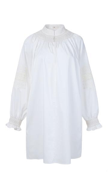 Cora Embroidery Tunic Dress
