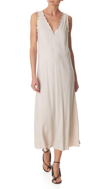Gemma Ruffle Bias Dress