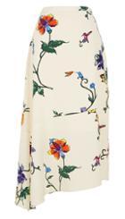 Bella Floral Asymmetrical Skirt