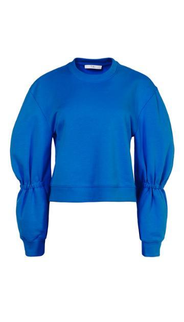 Sculpted Sleeve Sweatshirt