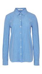 Gingham Shirting Slim Shirt