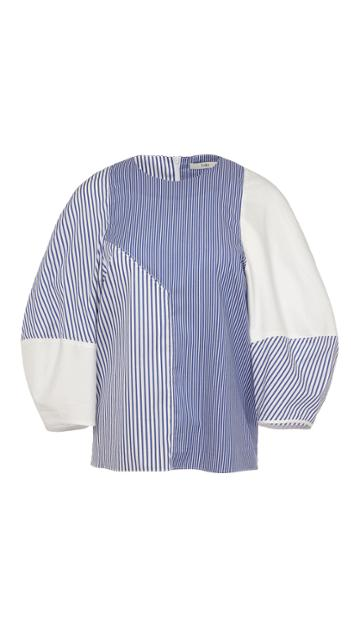 Collage Shirting Top
