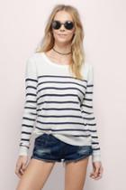 Tobi Sally Stripe Sweater