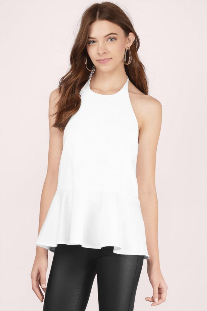 Tobi Hold Me Tight Halter Top