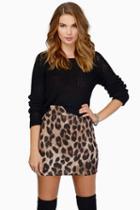 Tobi Vixen Mini Skirt