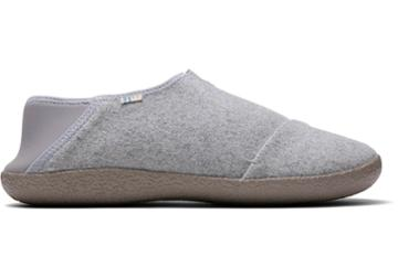 Toms Drizzle Grey Felt Men's Rodeo Slippers