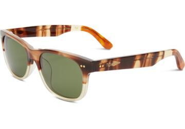 Toms Toms Beachmaster Honey Fade Sunglasses With Olive Gradient Lens