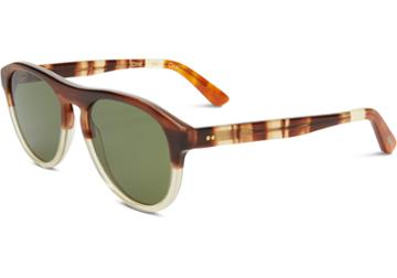 Toms Toms Declan Honey Fade Sunglasses With Olive Gradient Lens