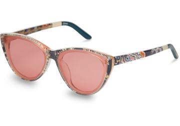 Toms Toms Josie Liberty Louis Liberty London Cherry Lens Sunglasses With Amber Mirror Lens