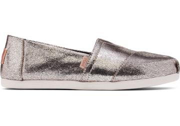 Toms Gold Crackle Shimmer Women's Classics