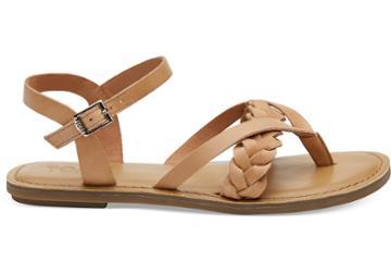 Toms Toms Honey Leather Women's Lexie Sandals - Size 9.5