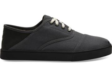 Toms Forged Iron Textured Twill Convertible Mens Cordones Venice Collection