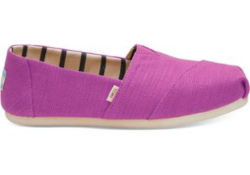 Toms Red Plum Heritage Canvas Women's Classics