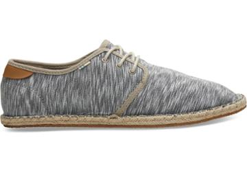 Toms Drizzle Grey White Noise Jersey Mens Diego Sneakers