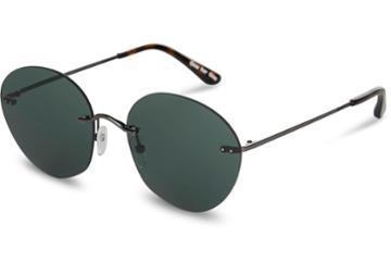 Toms Toms Clara Gunmetal Sunglasses With Green Grey Lens