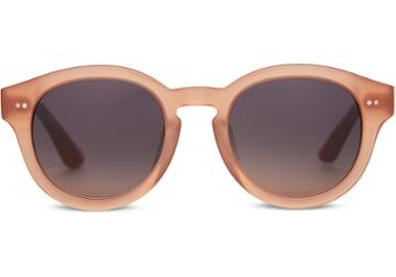 Toms Toms Bellevue Blush Sunglasses With Blue Mirror Lens