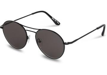 Toms Toms Melrose Matte Black Sunglasses With Dark Grey Lens