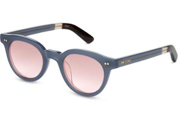 Toms Toms Fin Denim Sunglasses With Rose Mirror Lens