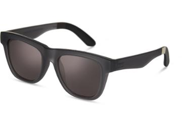 Toms Toms Dalston Matte Pewter Sunglasses With Chrome Flash Mirror Lens