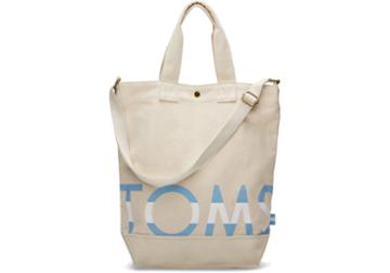 Toms Natural Toms Compass Tote Bag