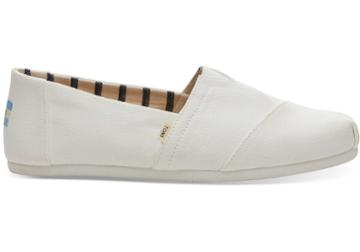 Toms White Canvas Mens Classics