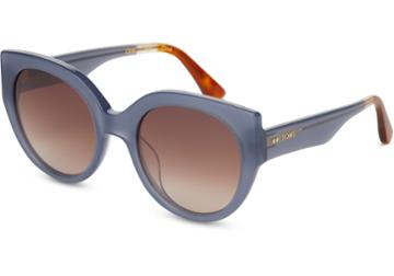 Toms Toms Luisa Denim Sunglasses With Brown Gradient Lens