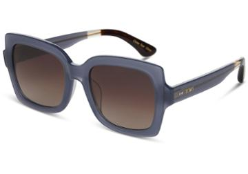 Toms Toms Mackenzie Denim Sunglasses With Brown Gradient Lens