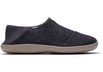 Toms Forged Iron Grey Felt Men's Rodeo Slippers