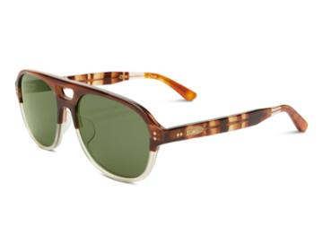 Toms Toms Kingsfield Honey Fade Sunglasses With Olive Gradient Lens