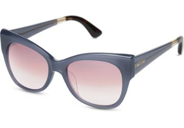 Toms Toms Autry Denim Sunglasses With Rose Mirror Lens