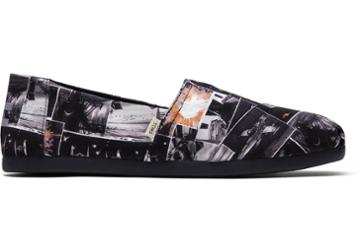 Toms Black Star Wars Darth™ Print Men's Classics Ft. Ortholite