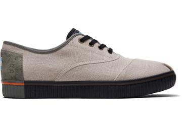 Toms Oxford Tan Canvas Mens Cordones Indio