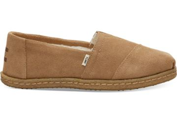 Toms Toffee Suede Crepe Women's Classics