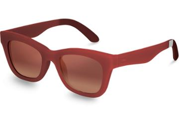 Toms Traveler By Toms Paloma Matte Spice Bronze Double Gradient Mirror Lens Sunglasses With Brown Gradient Lens
