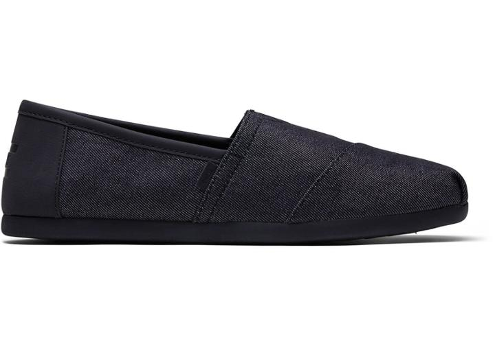 Toms 3.0 Black Denim Mens Classics