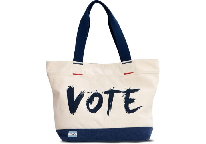 Toms Transport Navy Vote Tote