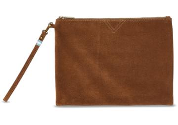 Toms Toms Cinnamon Suede Sierra Party Pouch Bag