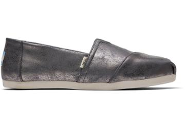 Toms Forged Iron Shimmer Synthetic Women's Classics Ft. Ortholite