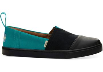 Toms So Ill Dynasty Green Suede Cupsole Womens Classics