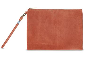 Toms Toms Sienna Suede Sierra Party Pouch Bag