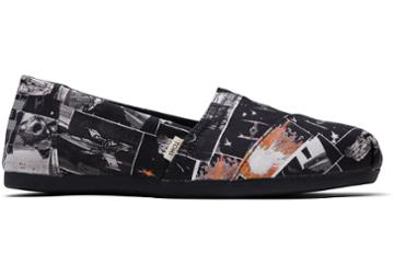 Toms Black Star Wars Darth™ Print Women's Classics Ft. Ortholite