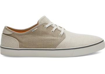 Toms Birch Oxford And Tan Heritage Canvas Mens Carlo Sneakers Topanga Collection