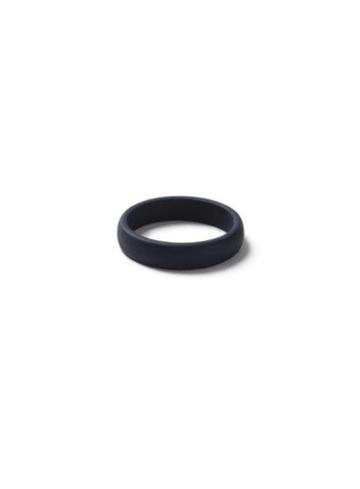 Topman Mens Blue Navy Rubberised Ring*