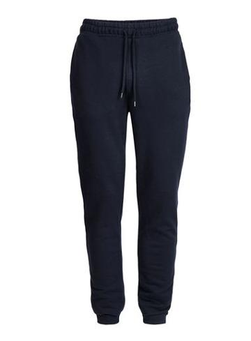 Topman Mens Blue Navy Side Taping Joggers