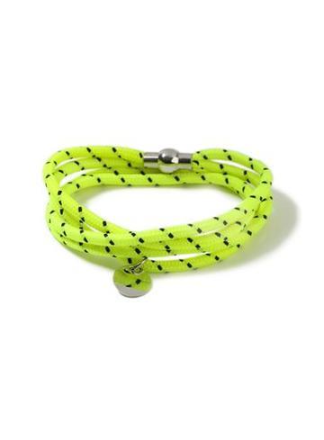 Topman Mens Yellow Abseil Bracelet*