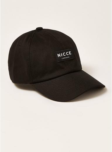 Topman Mens Nicce Black Badge Cap